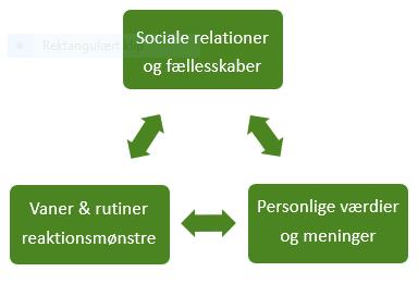 Gøren og Væren, vaner og rutiner, Arno Education, sociale relationer, reaktionsmønstre, værdier meninger
