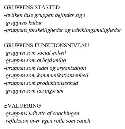 Gruppedynamik, gruppeprojekt